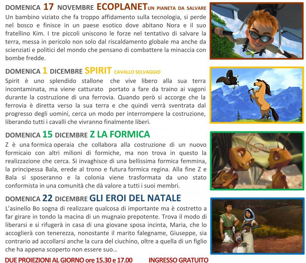 Cinema Bambini 19-20 - Teatro Modus Verona - Castelletti
