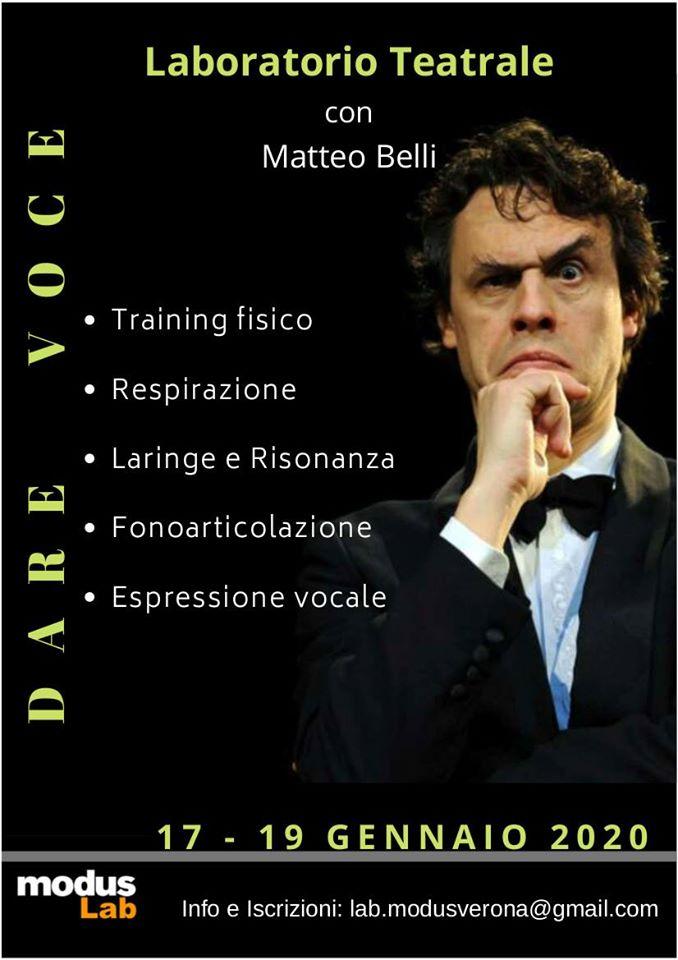 matteo belli workshop