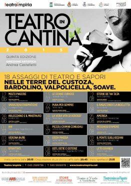 CARTELLONE Teatro in Cantina Impiria Modus Verona