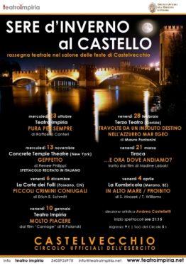 LOCANDINA CASTELVECCHIO inverno 2013-14 Impiria Modus Verona