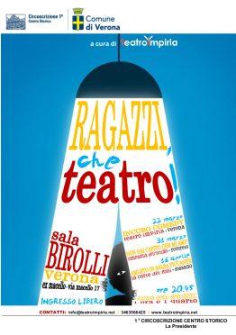 LOCANDINA Ragazzi, che teatro Impiria Modus Verona