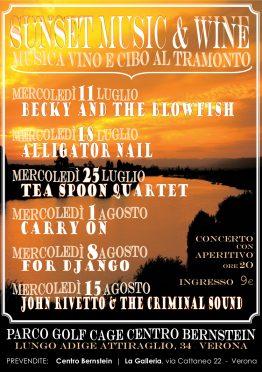 Locandina Sunset Music & Wine Impiria Modus Verona