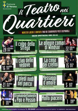Locandina Teatro nei quartieri 2018 Impiria Modus Verona1
