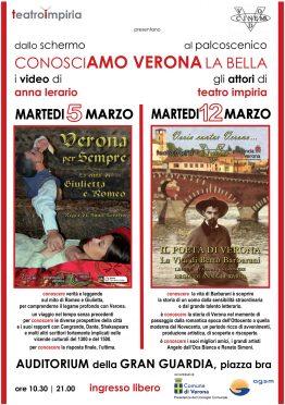 Locandina Verona la bella Impiria Modus Verona