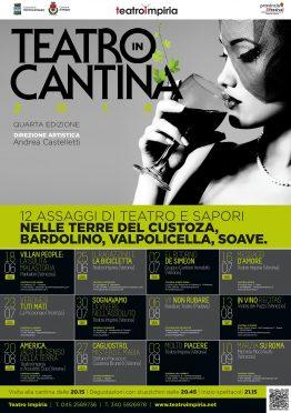 Manifesto Teatro in Cantina 2014 Impiria Modus Verona