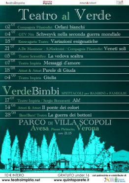 Teatro al verde Impiria Modus Verona