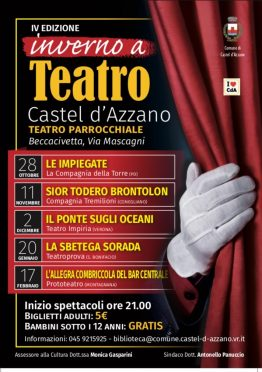 inverno a teatro Castel d'Azzano Impiria Modus verona