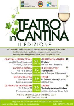 locandina Teatro in Cantina 2012 Impiria Modus Verona