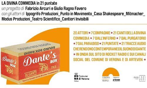 Dante's Box Modus Spazio Cultura Verona Castelletti