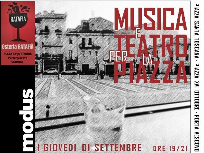 Musica Teatro Piazza Modus Verona Castelletti